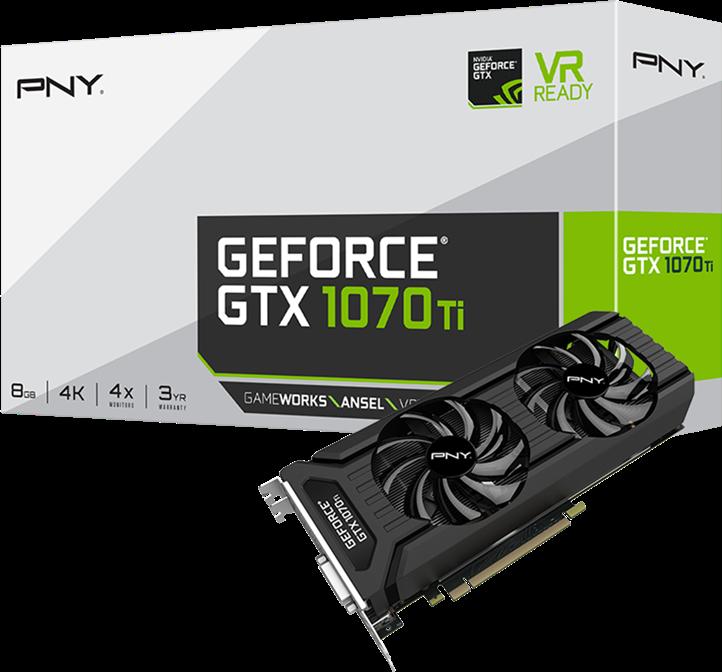 PNY GeForce GTX1070 Ti