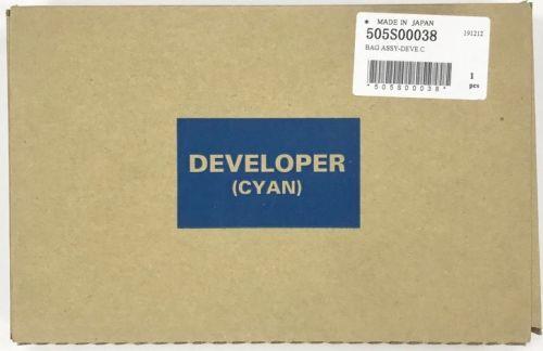 Девелопер Xerox 505S00038 Versant 80/2100 Press голубой 55K