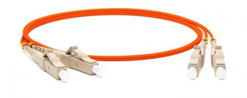 Кабель патч-корд волоконно-оптический Hyperline FC-D2-62-LC/PR-LC/PR-H-15M-LSZH-OR duplex, LSZH, 15 м патч корд hyperline fc d2 50 lc pr sc pr h 1m lszh 1 м оранжевый