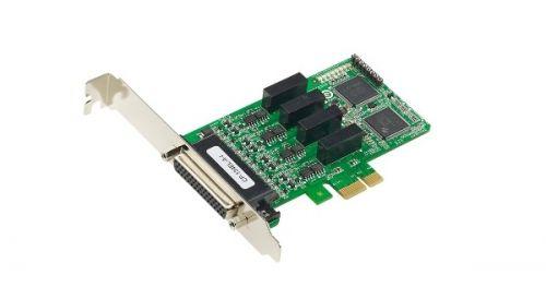 Плата MOXA CP-134EL-A-I w/o cable 4 Port PCIe Board, w/ o Cable, low profile, RS-422/485, w/ Surge, w/ Isolation плата moxa cp 134el a i w o cable 4 port pcie board w o cable low profile rs 422 485 w surge w isolation