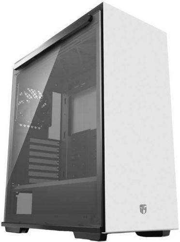 Корпус ATX Deepcool MACUBE 310P WH белый, без БП, большое боковое окно, 2*USB 3.0, аудио