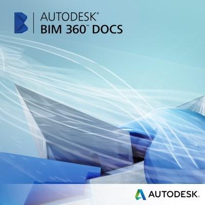 Autodesk BIM 360 Docs - Packs - Single User CLOUD 3-Year