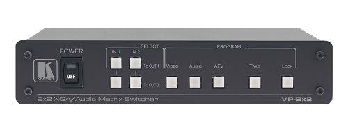 Коммутатор Kramer VP-2x2 51-0018090 2:2 сигналов VGA и симметричных стерео аудио сигналов