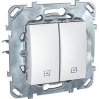 Выключатель Schneider Electric MGU5.207.18ZD Unica бел для жалюзи нажимной