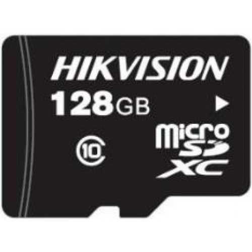 Карта памяти 128GB HIKVISION HS-TF-P1/128G microSDXC Class С10 100MB/s/90MB/s для видеонаблюдения