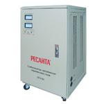 Ресанта Стабилизатор Ресанта АСН-15000/1-ЭМ (63/3/1) мощность 15000 Вт; вх/вых напряжение 140-260 В/216-224 В; скор стабилизации 10 В/с; точность стабилизации (Ресанта АСН-15000/1-ЭМ)