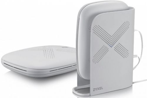 Набор ZYXEL Multy Plus kit WSQ60-EU0201F из двух Mesh Wi-Fi машрутизаторов AC3000, AC Wave2, MU-MIMO, 802.11a/b/g/n/ac (300+866+1733 Мбит/с), 9 антенн wi fi mesh система zyxel multy u kit 2 белый