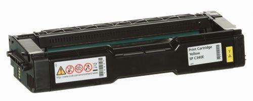 Принт-картридж Ricoh Print Cartridge Yellow SP C340E 407902 для Ricoh SPC340 (3800стр)
