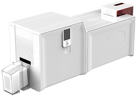 Принтер для печати пластиковых карт Evolis Primacy Lamination Simplex Expert PM1H0000RSL0 с модулем двухсторонней ламинации, USB & Ethernet, цвет пане