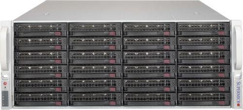 Корпус серверный 4U Supermicro CSE-846BE1C-R1K03JBOD 4U SC846B SAS3 24 Drive JBOD w/ Single Expander, 1000W