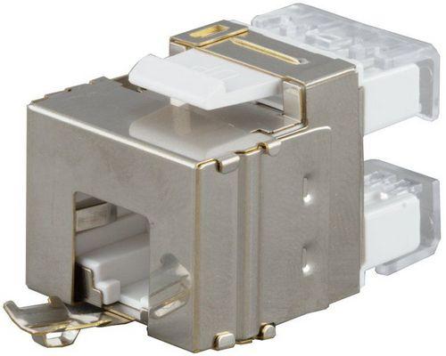 Hyperline KJ5-8P8C-C5e-180-SH-F-WH