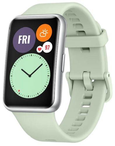 Часы Huawei WATCH Fit TIA-B09 55025870 Mint Green смарт часы huawei watch fit tia b09 1 64 черный черный [55025871]