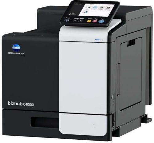 Принтер цветной Konica Minolta bizhub C4000i AAJR021 PCL/PS, А4, 40 стр/мин, 1200 dpi, 4 ГБ, Micro SD 8 ГБ, USB/USB-Host/Ethernet
