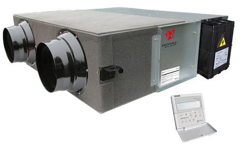 Приточно-вытяжная установка Royal Clima RCS-350-U SOFFIO Uno с рекуператором