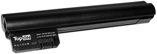 Аккумулятор для ноутбука HP TopOn TOP-HP-MINI-210H для моделей Mini 210, 210-1000, 2102, CQ20 10.8V 4400mAh 48Wh, усиленный. PN: HSTNN-IB0O, HSTNN-IB0