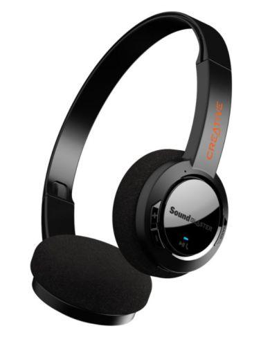 Наушники беспроводные Creative Sound Blaster JAM V2 51EF0950AA000 Bluetooth 5.0, черные