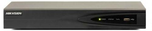 Видеорегистратор HIKVISION DS-7604NI-K1(B) IP 4-х канальный, видеовход: 4 канала, аудиовход: двустороннее аудио 1 канал RCA, видеовыход: 1 VGA до 1080