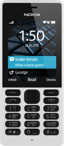 Мобильный телефон Nokia 150 DS A00027945 white мобильный телефон nokia 215 ds 16qenb01a01 black