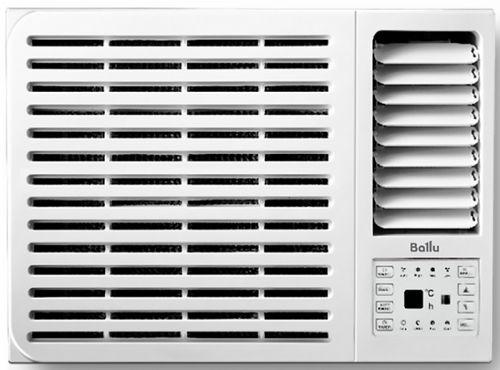 Кондиционер оконный Ballu BWC-09 AC 2.64 кВт, только охлаждение, ИК пульт