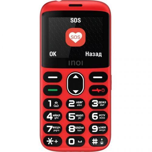 Мобильный телефон INOI 118B red