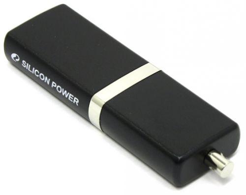 Фото - Накопитель USB 2.0 8GB Silicon Power Luxmini 710 SP008GBUF2710V1K черный накопитель usb 3 0 8gb silicon power jewel j08 sp008gbuf3j08v1k черный