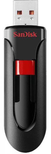 Фото - Накопитель USB 2.0 128GB SanDisk Cruzer Glide SDCZ60-128G-B35 черный usb накопитель sandisk cruzer edge black red