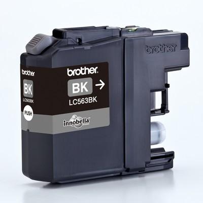 Картридж Brother LC-563BK для MFCJ2310/2510/3520/3720 чёрный (600стр) картридж brother lc 563bk для mfcj2310 2510 3520 3720 чёрный 600стр