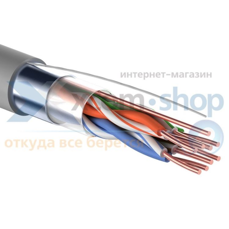 PROCONNECT FTP 4PR 24AWG CAT5e 305м