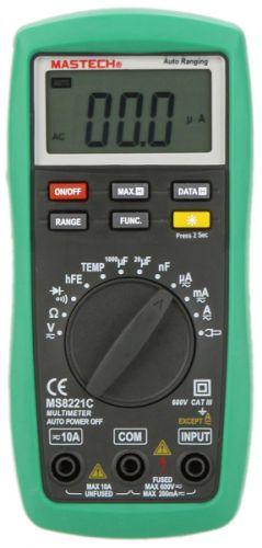 Мультиметр Mastech 13-2056 Универсальный MS8221С