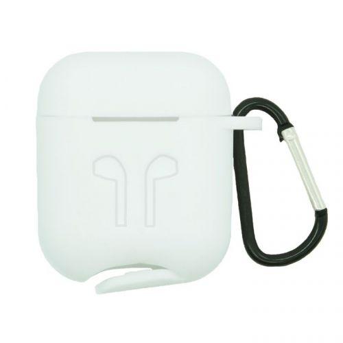 Чехол BoraSco 36799 для TWS Apple AirPods белый