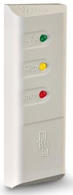Считыватель PERCo PERCo-MR07.1B бесконтактный карт семейства Mifare с опцией защиты от копирования (цвет корпуса - светло-бежевый)