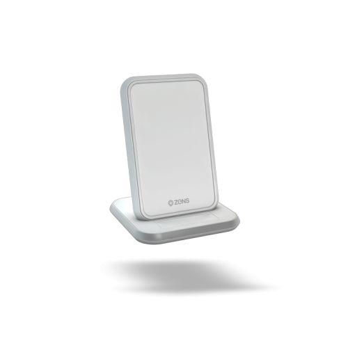 Зарядное устройство беспроводное Zens Stand Aluminium Wireless Charger ZESC13W/00 белый