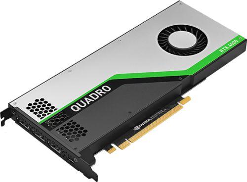 Видеокарта PCI-E PNY Quadro RTX 4000 VCQRTX4000BLK-1 8GB GDDR6 256 bit 3*DP Virtual Link Bulk