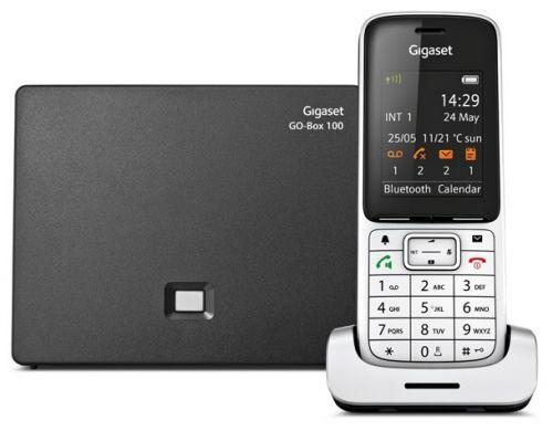 Телефон DECT Gigaset SL450A GO телефон ip gigaset sl450a go серебристый s30852 h2721 s301