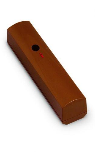 Извещатель SATEL AGD-100 BR беспроводной, разбития стекла акустический, (коричневый корпус), дальность радиосвязи в прямой видимости до 500 м, двухкан
