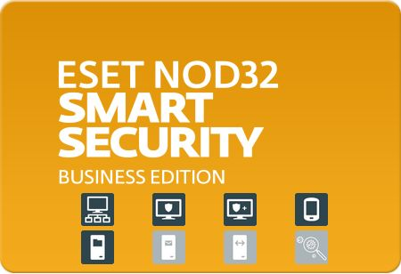 Eset NOD32 Smart Security Business Edition for 10 users, 1 мес.