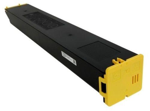 Тонер-картридж Sharp MX-61GTYB MX61GTYB/MX60GTYB желтый оригинал, 12К, для Sharp