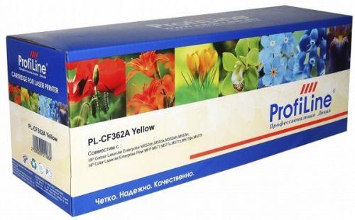 Картридж ProfiLine PL_CF362A/040_Y для HP Color LaserJet M552/M552dn/M553/M553dn/M553n/M553x/M577/M577dn/Canon i-SENSYS LBP-710/LBP-712 yellow 5000 ко