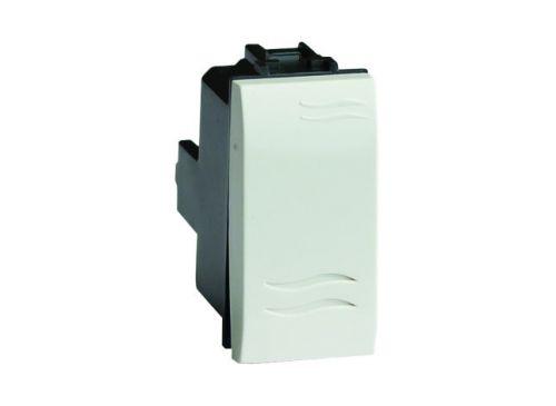 Выключатель DKC 76001B белый, 1 модуль, Brava