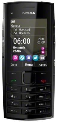 Nokia X2-02 Dark Silver