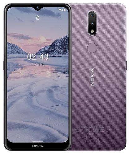"""Смартфон Nokia 2.4 DS 3/64GB 719901126581 purple, 6.5"""", 512GB flash, 13Mpix/2pix/5Mpix, 2Sim, GSM/WCDMA/LTE, BT/Wi-Fi, GPS/AGPS+GLONASS+Beidou, Micro- смартфон nokia 2 4 ds ta 1270 серый 6 5 32 гб wi fi bluetooth 3g 4g gps"""