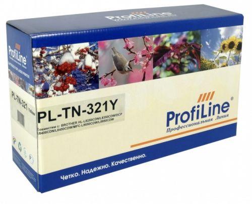 Картридж ProfiLine PL-TN-321-Y для принтеров Brother MFC L8650CDW 1500 копий Yellow ProfiLine