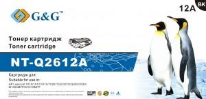 Тонер-картридж G&G NT-Q2612A для HP LaserJet 101х, 102х, 3015, 30хх, M1005, M1319F