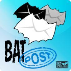 Право на использование (электронный ключ) Ritlabs BatPost Server на 50 учетных записей.