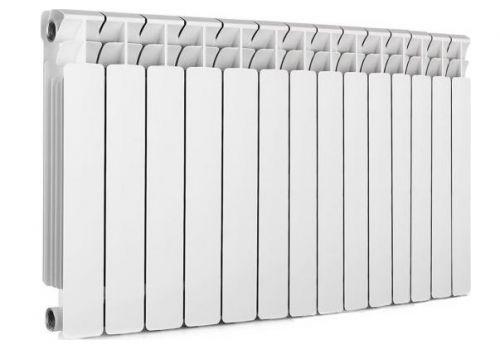 Радиатор отопления алюминиевый Rifar Alum Ventil 500 х14 RAL50014НПЛ нижнее подключение, левое