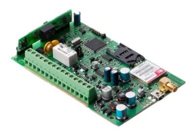 Коммуникатор Eldes ET083-2G универсальный GSM 2G, работа по системной шине панелями Paradox, DSC, CSD, GPRS(2G/3G), SMS, PSTN, LAN, Ademco Contact ID,