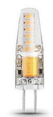 Лампа светодиодная Gauss 207707202 LED 2вт 12в G4 белый капсульная Gauss