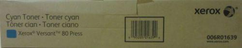 Тонер-картридж Xerox 006R01639 ТОНЕР-КАРТРИДЖ ГОЛУБОЙ Xerox Versant 80