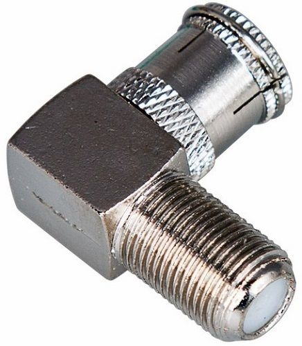Переходник PROconnect 05-4312-4 гнездо F - гнездо TV угловой