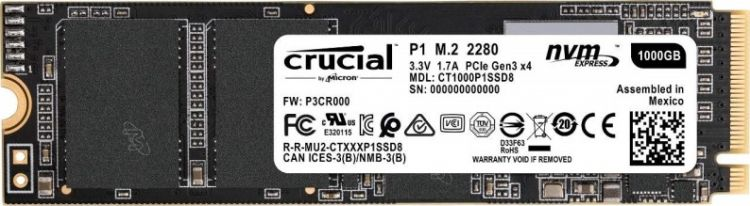 Crucial CT1000P1SSD8
